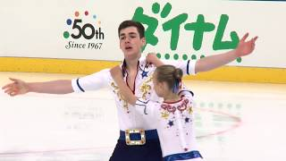 Talisa THOMALLA / Robert KUNKEL GER - Pairs Free Skating MINSK 2017