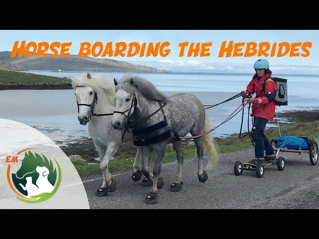 Horseboarding the Outer Hebrides