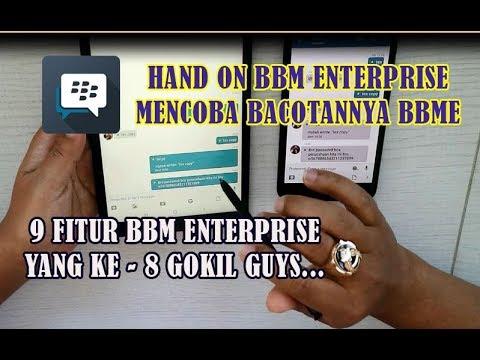9 Fitur Keren BBM Enterprise Individual