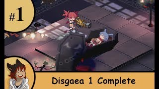Disgaea 1 Complete part 1 - Always with a tutorial