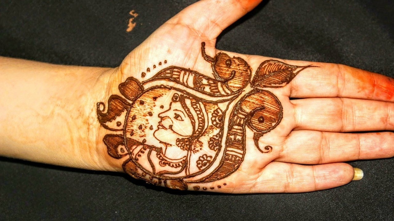 Mehndi Designs For Dulha : Bridal mehndi designs how to draw dulhan or bride in