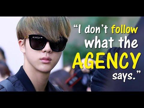 14 Times BTS's Jin Sassed BigHit Entertainment's Staff