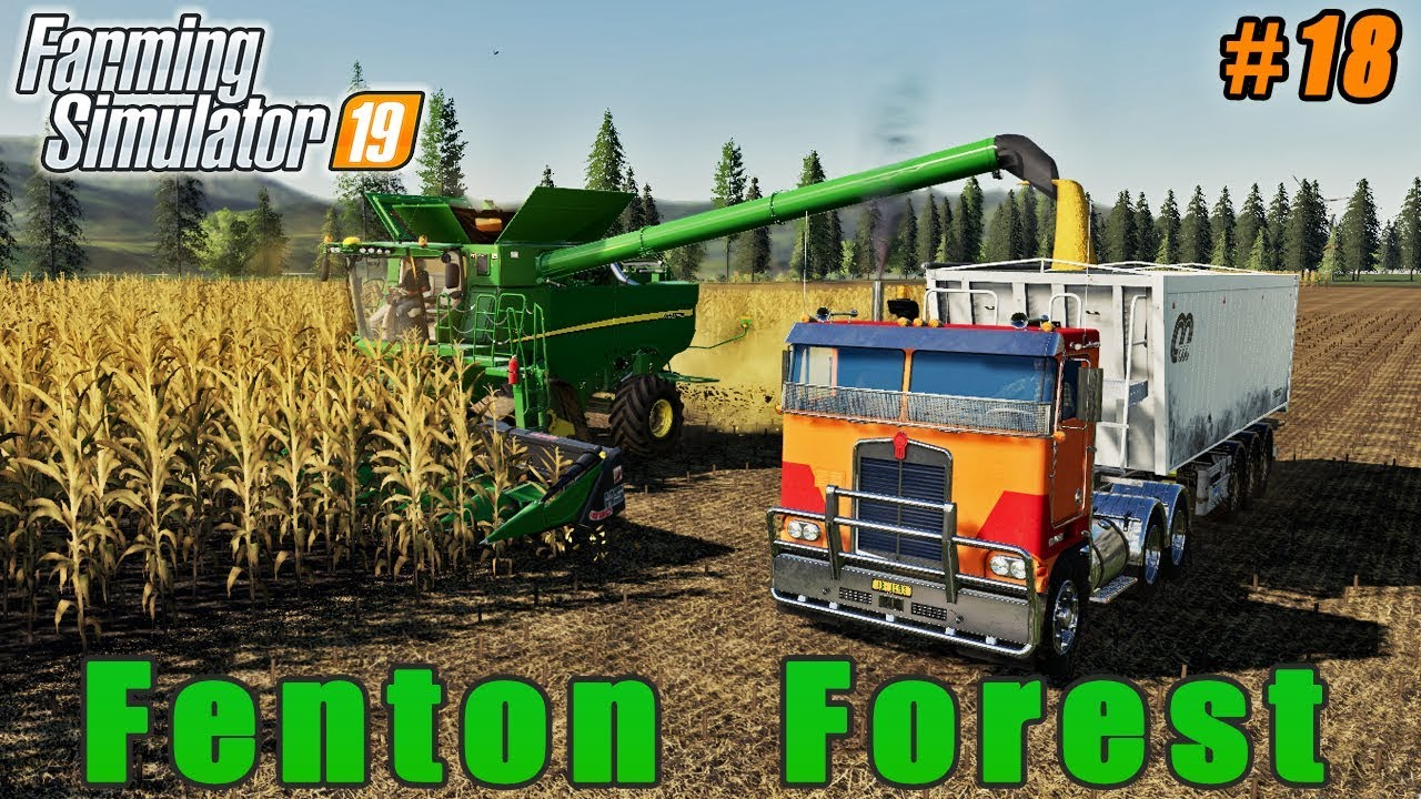 Sowing oats, selling corn, spreading digestate | Farming on Fenton Forest |  FS 19 | Timelapse #18