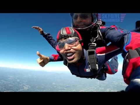 Shubham Goel's Tandem skydive!