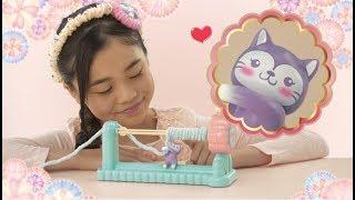 【最新おもちゃ】編み物が簡単にできちゃう!「いとニャンのくるっとロールン」CM