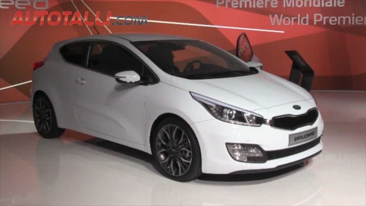 kia pro ceed 1 6 gdi 135 hp 6 speed dct 2012 youtube. Black Bedroom Furniture Sets. Home Design Ideas
