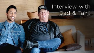 Tahj Mowry & Dad Q&A | Tia Mowry's Quick Fix