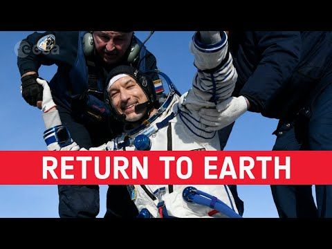 Luca Parmitano: return to Earth