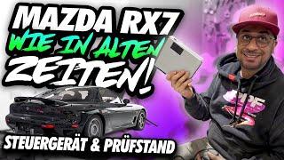 JP Performance - Wie in alten Zeiten | Mazda RX7 Steuergerät & Prüfstand