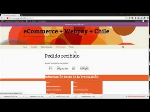 eCommerce Chileno en 5 minutos - Woocommerce + Webpay + Chile