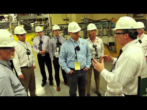 Sen. Neil Anderson and Colleagues Tour Exelon
