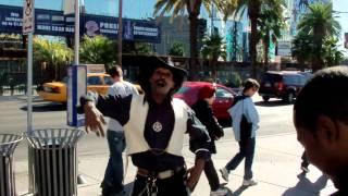 Cowboy in Las Vegas Singing