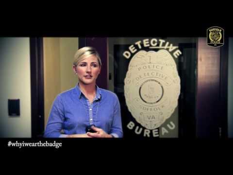 #whyiwearthebadge - Det. Casey Thomas (Suffolk, VA Police Department)