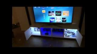 Tv Cabinet Custom Led Lighting