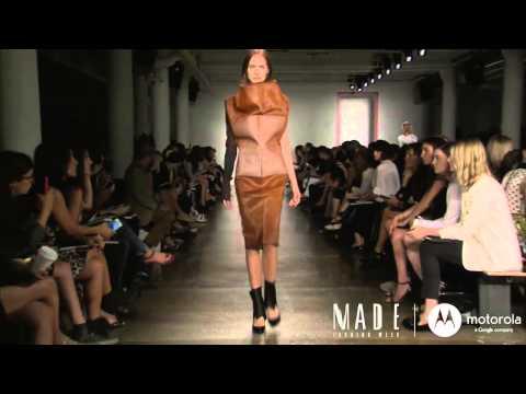 MADE Fashion Week: Parsons MFA Runway Show