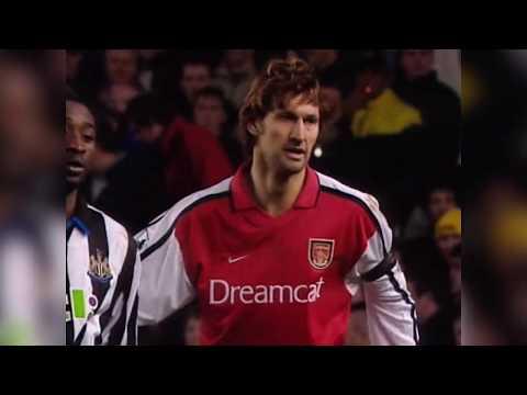 Arsenal vs Newcastle | 5-0 | 2000/01 [HQ]