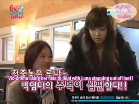 Luna is scared of Victoria fx