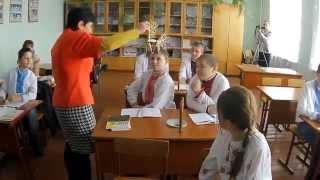 Урок хімії 7 клас - відкритий урок