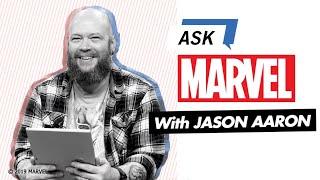 Avengers, Thor, and Conan writer Jason Aaron | Ask Marvel
