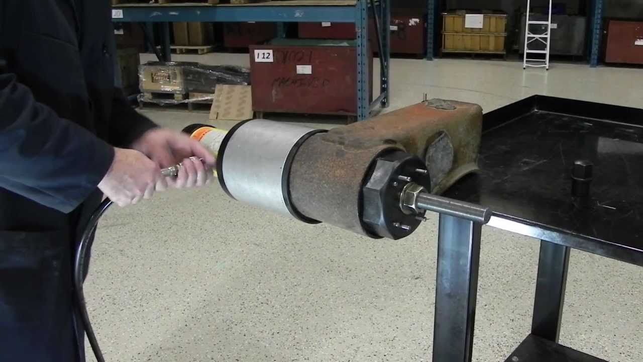 Servicing The Intraax Tri Functional Bushing Using The