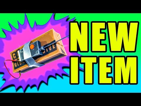 NEW Remote Explosives C4 & Supply Llama 💥 Fortnite Battle Royale NEW UPDATE PC Gameplay & Tips
