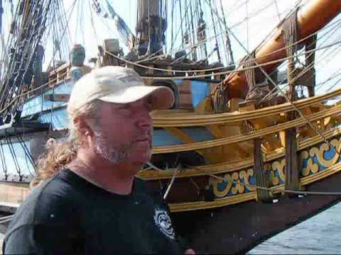 Kalmar Nyckel, Interview With Crew Member Paul Hutchins.wmv