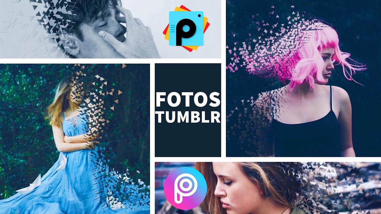 Como hacer fotos estilo tumblr efecto desintegraci n - Para disenar fotos ...