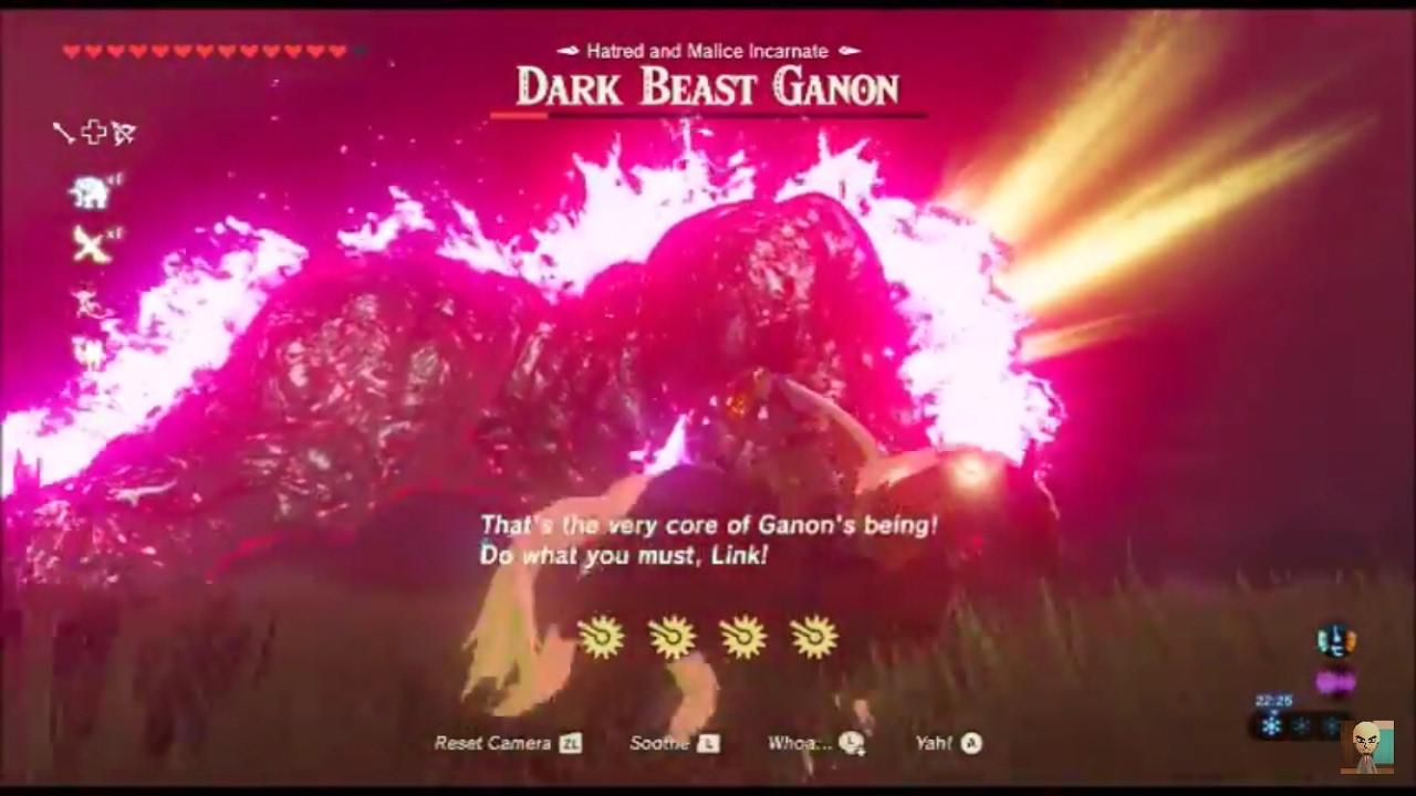 Dark Beast Ganon Breath Of The Wild Finale Legend Of Zelda