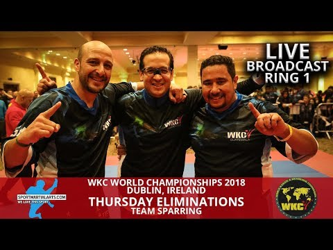 Ring 1 (2) Thursday Teams | 2018 WKC World Championships In Dublin Ireland