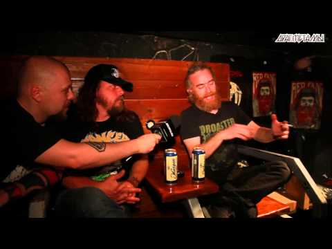 Red Fang Interview Moscow 2013 -- Интервью Red Fang в Москве 2013