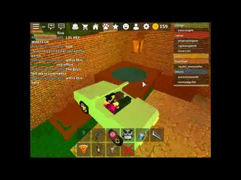 Roblox Work At A Pizza Place Car In My Garage Youtube