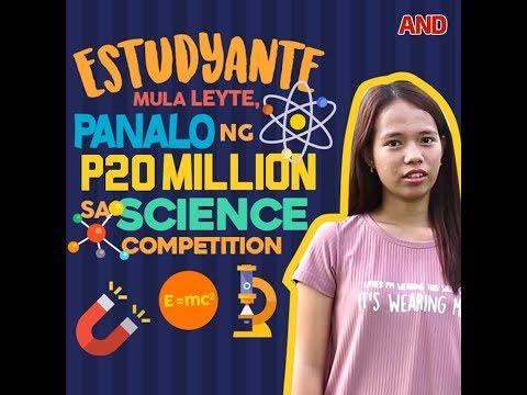 Estudyante mula Leyte, panalo ng P20M sa science competition