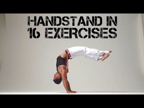 16 exercises that will help you achieve your handstand.