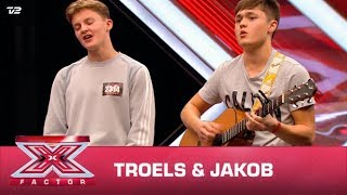 Troels & Jakob synger 'Love Someone' – Lukas Graham (Audition) | X Factor 2020 | TV 2