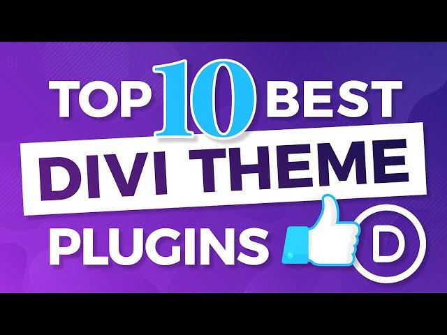 Top 10 Best Divi Theme Plugins For Wordpress - MUST HAVE DIVI THEME PLUGINS!