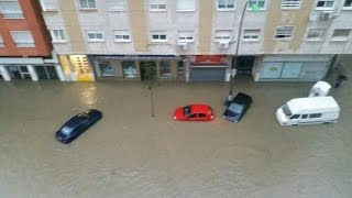 Málaga ►Las Peores Inundaciones en 25 años   España 04 diciembre 2016