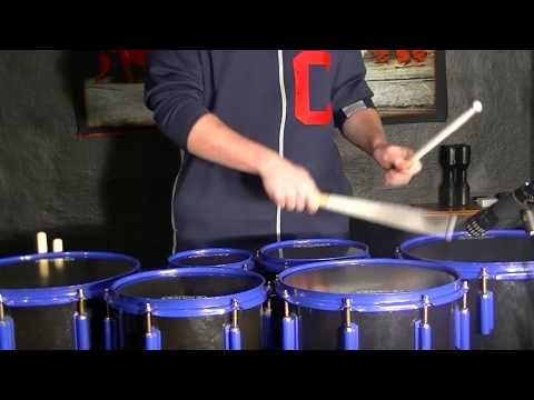 Tenor Drum Cover of Radioactive by Rex Larkman