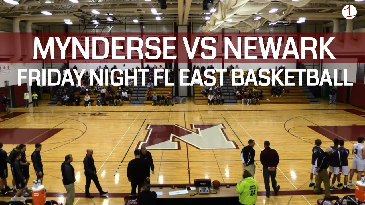 WEBCAST REPLAY: Mynderse visits Newark for Friday night Finger Lakes East boys basketball on FL1 Sports