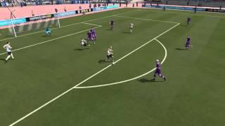 FIFA 16 UT - CPU GK Makes Unbelievable Reflex Saves
