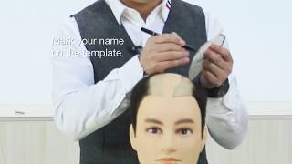 How to Make a Template for A Custom Hair System