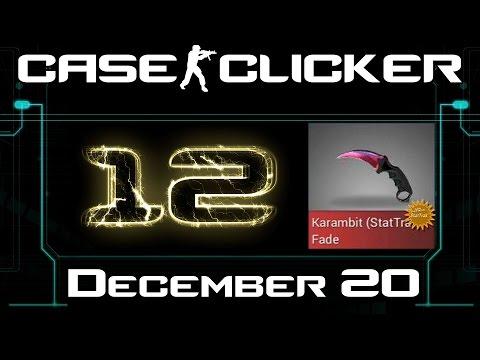Case Clicker   December Karambit Fade FN ST Tradeaway #12