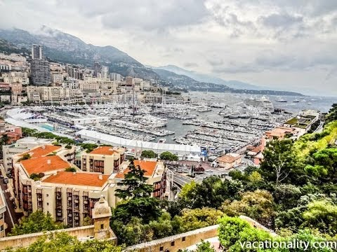 Monaco. Prince's Palace. What a View. Round the World Trip, 19