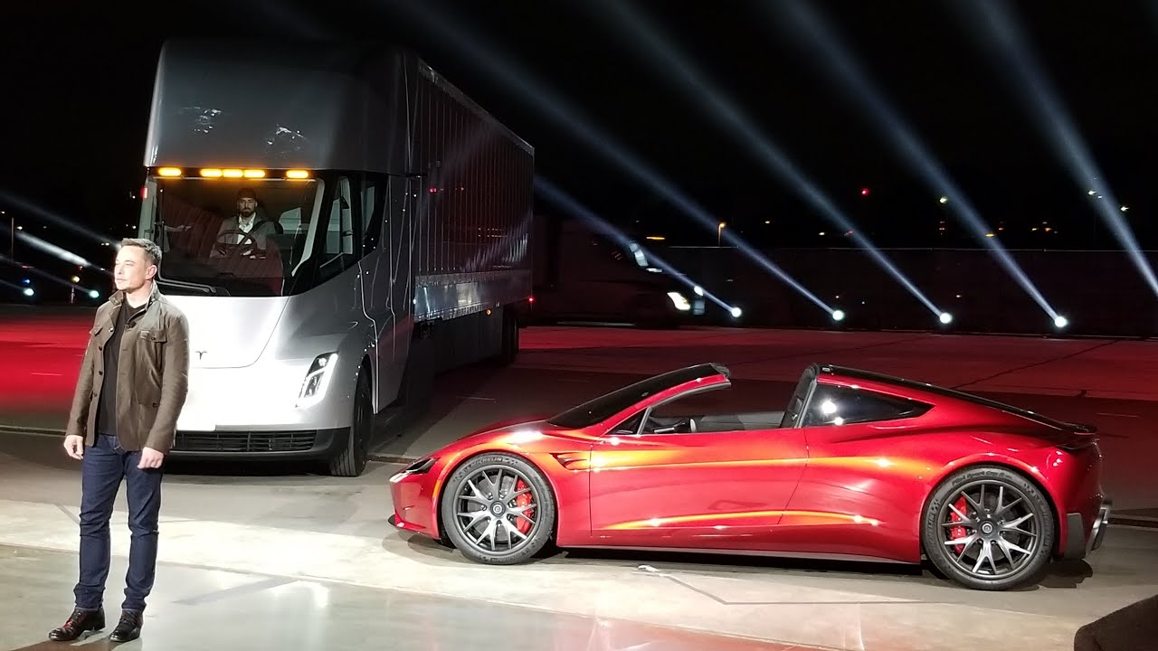 New Tesla Roadster 2020 Test Ride And Acceleration