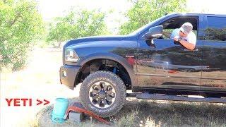 Will a YETI Bucket hold a Dodge Ram 2500 Power Wagon ?