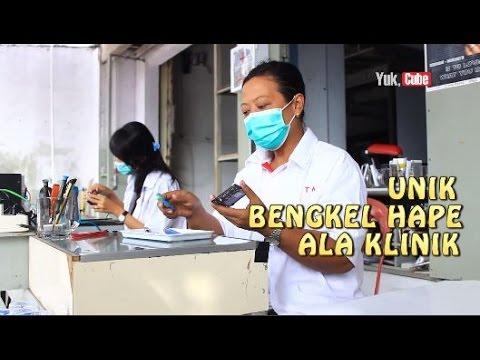Unik! Bengkel HP dengan Konsep Klinik di Jogja - Yuk Cube Mp3