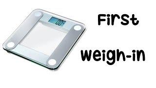 My Weightloss Journey has Officially Begun! (+ weigh-in)