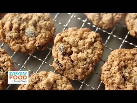 Chewy Oatmeal Raisin Cookies | Everyday Food with Sarah Carey