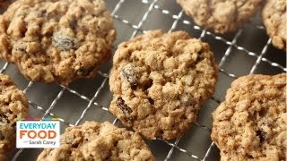 Chewy Oatmeal Raisin Cookies  Everyday Food with Sarah Carey