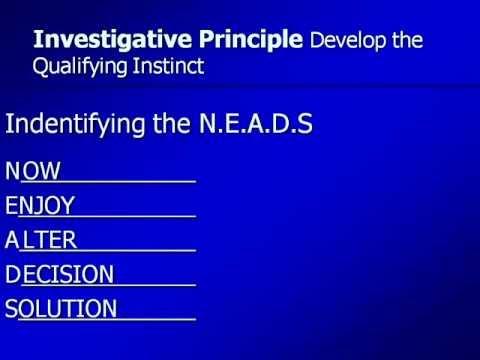 ( 5 )The Investigative Principle