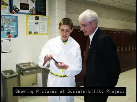 Wisconsin School Superintendent (Mr. Tony Evers) visits the Appleton Career Academy